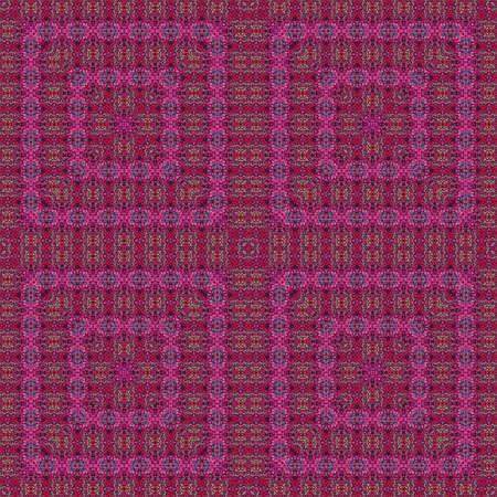 kaleidoscope purple geometric pattern abstract background colorful. art design. Stock Photo