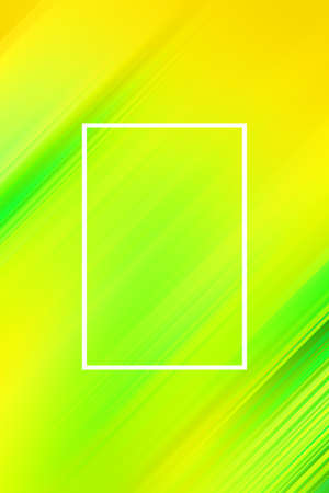 Diagonal stripes background with frame. Lines abstract design cover template, illustration modern. Фото со стока - 131302811