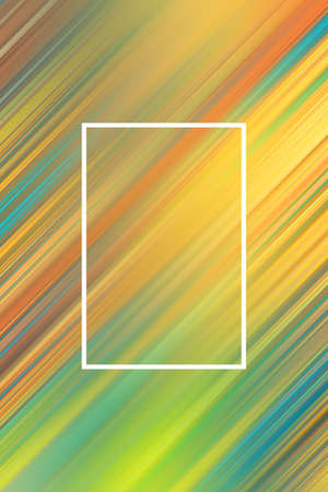 Diagonal stripes background with frame. Lines abstract design cover template, brochure.