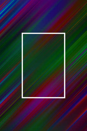 Diagonal stripes background with frame. Lines abstract design cover template, presentation modern.