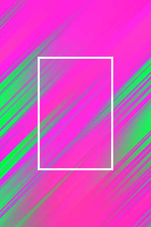 Diagonal stripes background with frame. Lines abstract design cover template, presentation business.