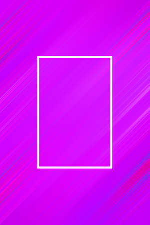 Diagonal stripes background with frame. Lines abstract design cover template, presentation poster.