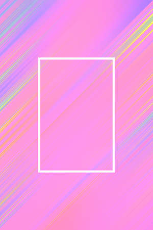 Diagonal stripes background with frame. Lines abstract design cover template, business.