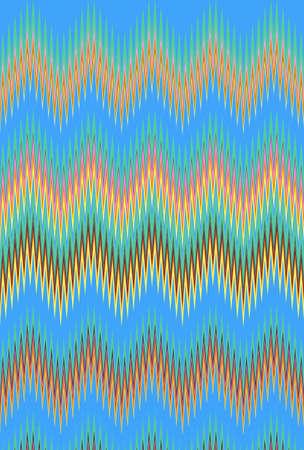 blue sky denim chevron zigzag pattern background. art seamless.