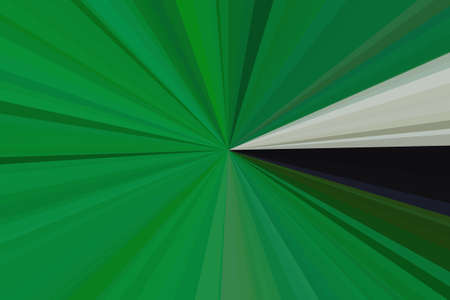 light green rays beam background abstract pattern. foliage plant.