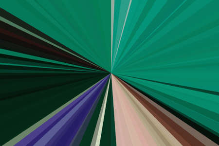 light rays green beam background abstract pattern. backdrop. Banco de Imagens