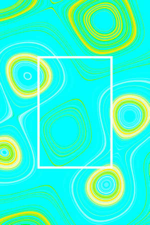 Abstract vivid liquid background and design poster graphic, pattern zine culture.