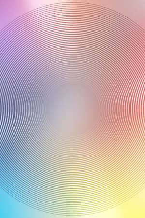 abstract gradient radial multicolor background art pattern. futuristic bright.