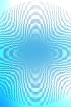 Gradient radial background, blue sky, blur smooth soft texture wallpaper abstract with copy space. Gradation