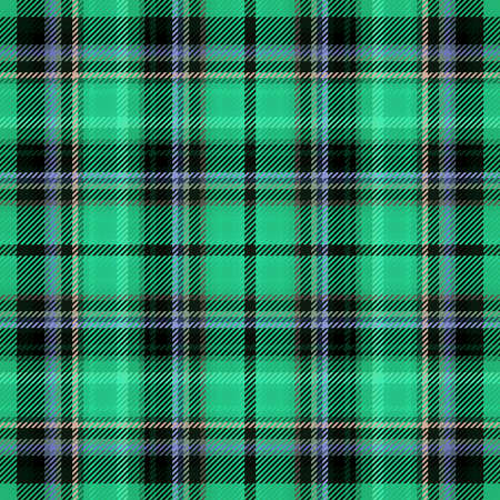 Scottish fabric pattern and plaid tartan texture for background, material abstract.
