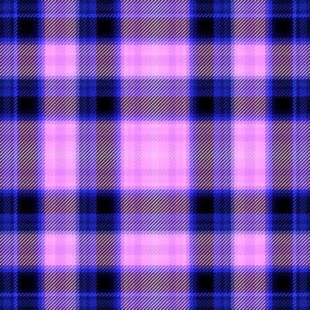 Patrón de tela escocesa y textura de tartán a cuadros para el fondo, tela tradicional. Foto de archivo