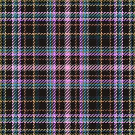 Tartan fabric plaid, background seamless pattern for cloth, retro british.