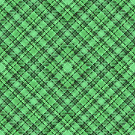 Fabric diagonal tartan, pattern textile and abstract background. irish square.