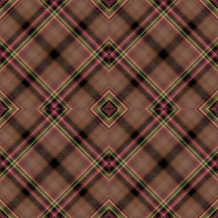 Background tartan, seamless abstract pattern with diagonal lines, irish scottish. 版權商用圖片