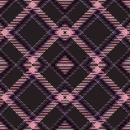Background tartan, seamless abstract pattern with diagonal lines, textile texture.