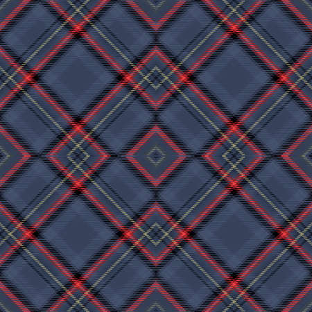 Background tartan, seamless abstract pattern with diagonal lines, english decor.