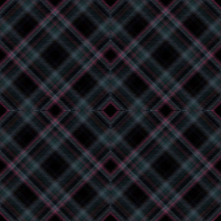 Background tartan, seamless abstract pattern with diagonal lines, fabric textile. 版權商用圖片