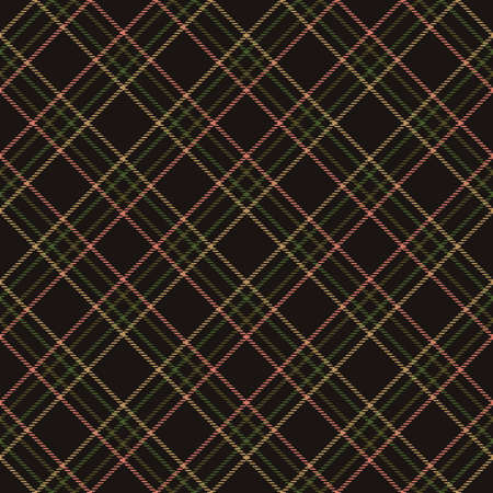 Fabric diagonal tartan, pattern textile and abstract background. english retro.