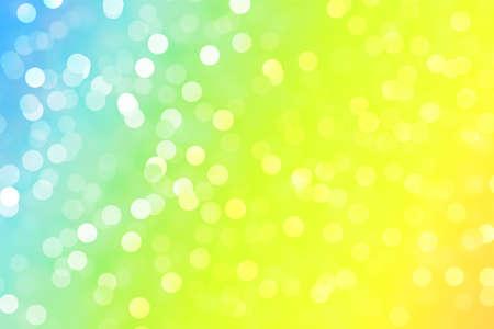 Background bokeh light holiday decoration glitter design, eve. Stock Photo