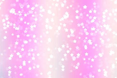 Stars background bokeh christmas decoration holiday color, gala year. Stock Photo