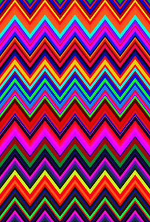 hallucination background psychedelic pattern hallucinogenic zigzag chevron. geometric. Stock Photo - 134214020