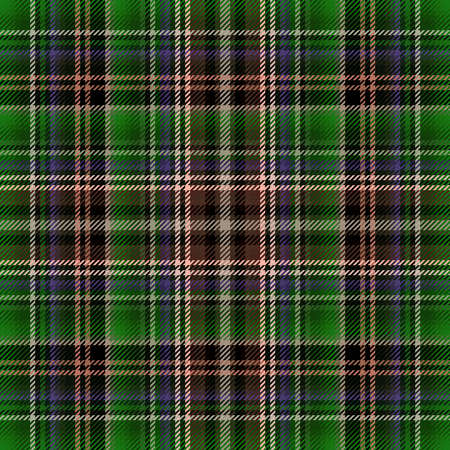 Tartan fabric plaid, background seamless pattern for cloth, checkered square.
