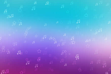 Music background light bokeh sound abstract beautiful, artistic.
