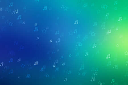 Music background light bokeh sound abstract beautiful, concert note.