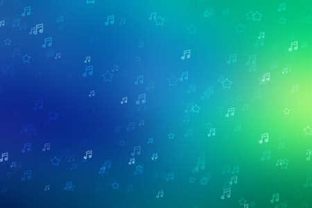 Music background light bokeh sound abstract beautiful, concert note. Foto de archivo