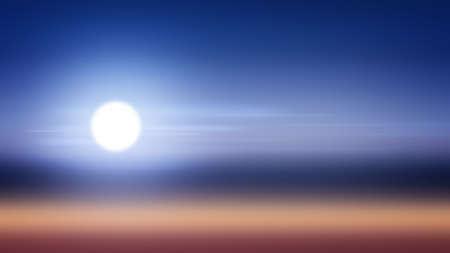 Moon background night gradient light illustration sky, dramatic circle.