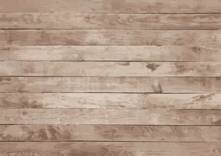 Dark old wooden vector texture, may use as background. Closeup abstract texture. Copy space. Illustration
