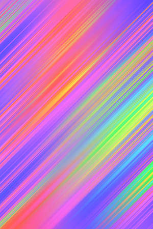 Abstract background diagonal stripes template. Graphic colorful lights dynamic motion wallpaper illustration, lines print. Archivio Fotografico