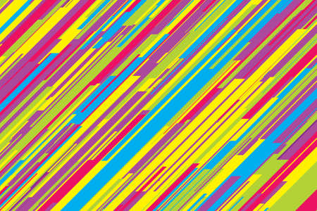 Abstract striped line background, vector eps10 illustration. Diagonal motley straight design color multicolor striped colorfull.