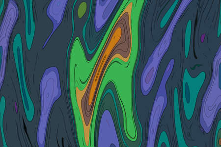 Animation abstract background motion hypnotic psychedelic design, vibes. 版權商用圖片