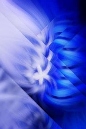 flame fractal background blue prominence art illustration. glow.