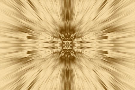 Gold ray background and glowing beam texture for design, abstract backdrop.