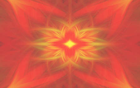 geometric red pattern background fractal kaleidoscope backdrop. blur. 版權商用圖片