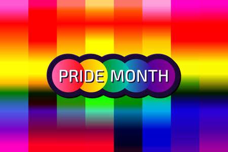 Lgbtq symbol sign background bisexual pride flag. rainbow sex