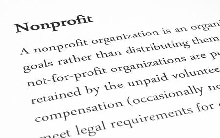 advocated: nonprofit meaning