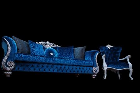 arredamento classico: Turkuaz divano e poltrona