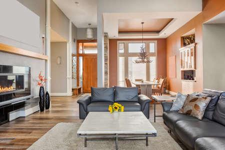 Luxus Wohnzimmer Mit Kamin Livingroom Couch Lizenzfreie Vektorgrafiken Kaufen Rf