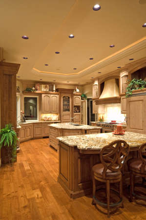 constructed: Newly constructed home with beautiful furnished kitchen