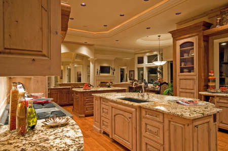 furnished: Newly constructed home with beautiful furnished kitchen