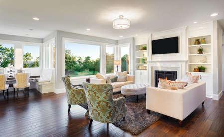 Living Room Interior w nowym domu