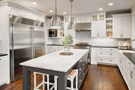 my home: kitchen in luxury home