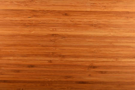 buildup: Brown bamboo wooden build-up traditional cutting chopping kitchen cooking board background texture Stock Photo