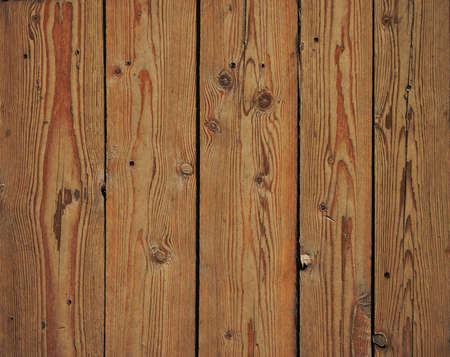 gaps: Old vintage rustic aged antique wooden sepia panel with vertical gaps, planks and chinks