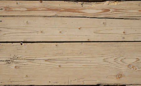 gaps: Old vintage rustic aged antique wooden sepia panel with horizontal gaps, planks and chinks