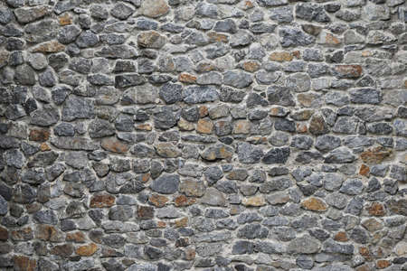 rock wall: Old style rough stone rock wall texture