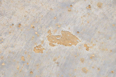 defects: Damage fault defects in grunge concrete wall or floor with stains background